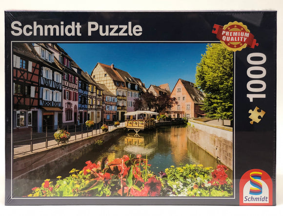 Puzzle: 1000 Little Village with Half-timbered Houses
