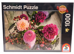 Puzzle: 1000 Berries and Flowers
