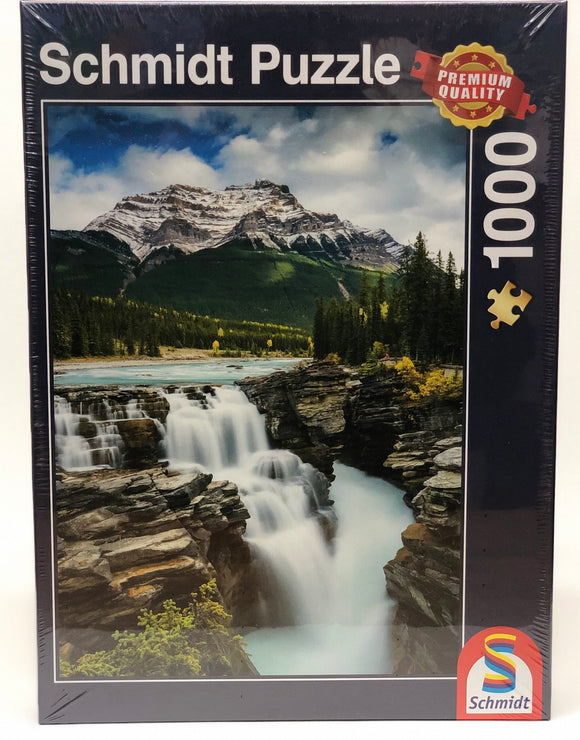 Puzzle: 1000 Athabasca Falls, Canada