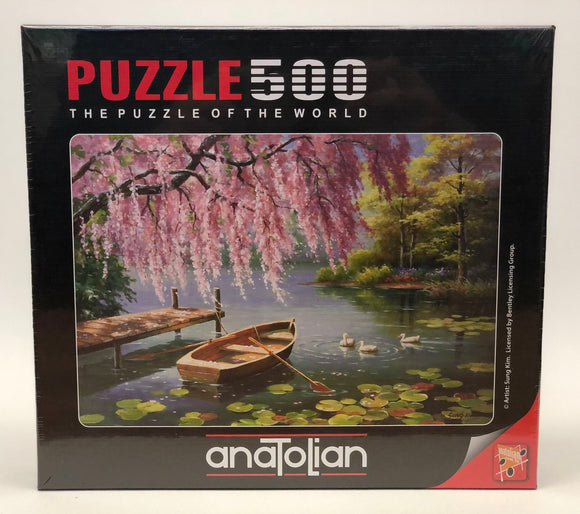 Puzzle: 500 Willow Spring Beauty