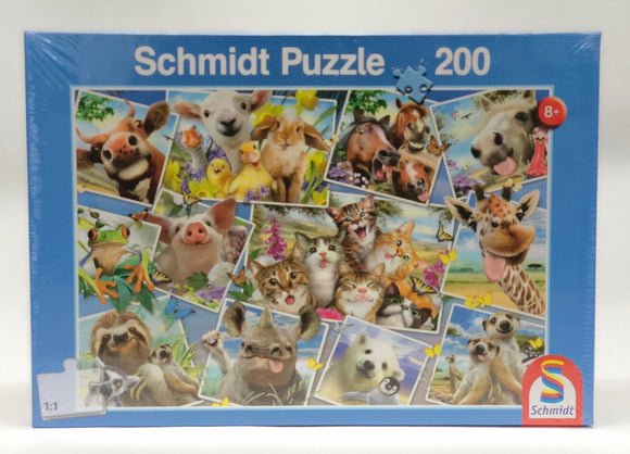 Puzzle: Child 200 Animal Selfies