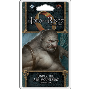 Lord of the Rings: The Card Game - Under the Ash Mountains Adventure Pack