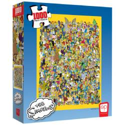 Puzzle: 1000 Simpson Cast of Thousands