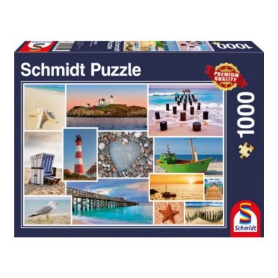 Puzzle: 1000 By The Sea