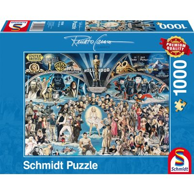 Puzzle: 1000 Hollywood