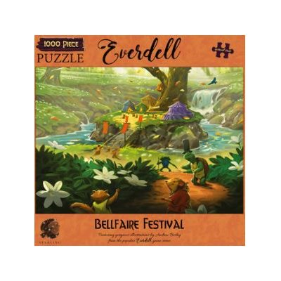Puzzle: 1000 Everdell Bellfaire Festival
