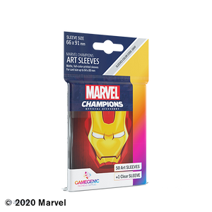 Marvel Champions: Sleeves - Ironman