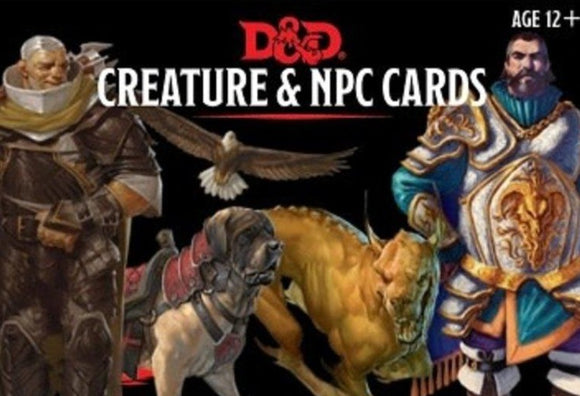D&D Creature and NPC Cards
