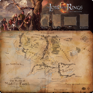 Lord of the Rings: The Card Game - Fellowship 1-4 Player Playmat
