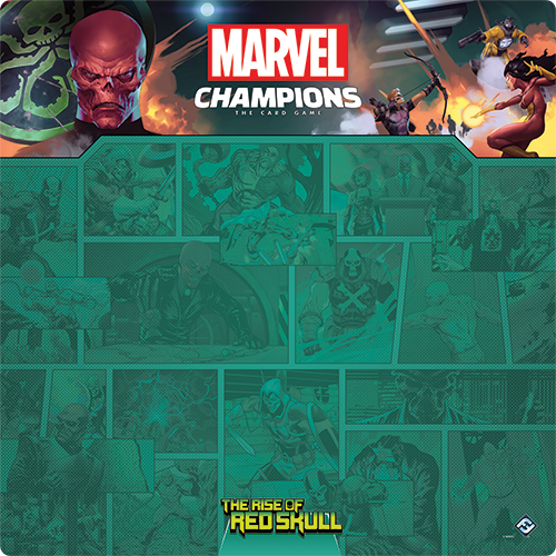 Marvel Champions: The Rise of Red Skull Playmat
