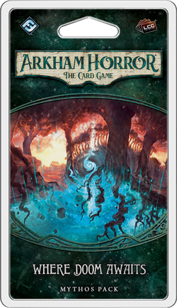 Arkham Horror: The Card Game - Where Doom Awaits Scenario Pack