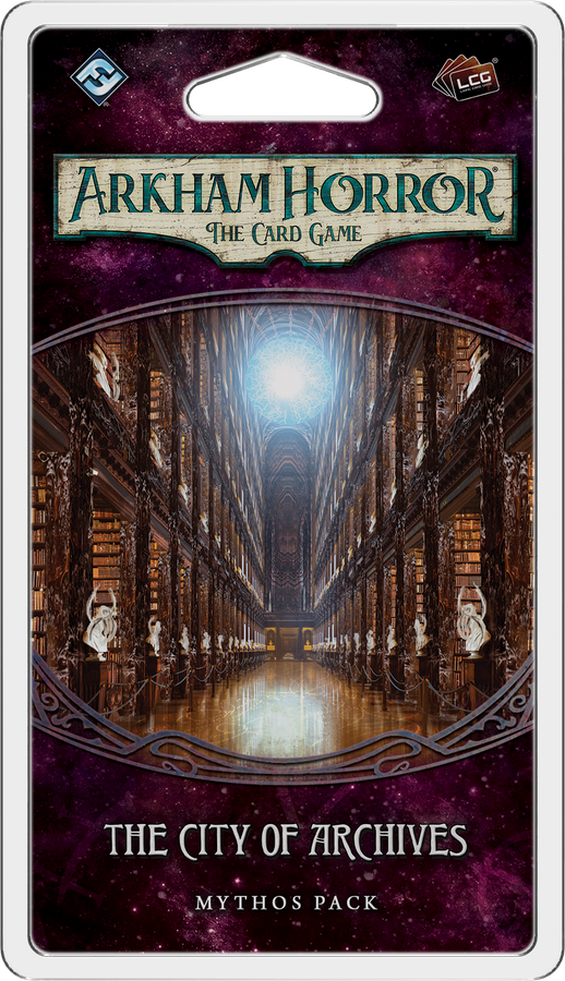Arkham Horror: The Card Game - The City of Archives Scenario Pack