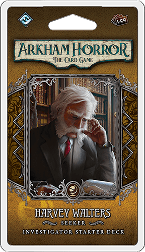 Arkham Horror: The Card Game -  Harvey Walters Investigator Pack