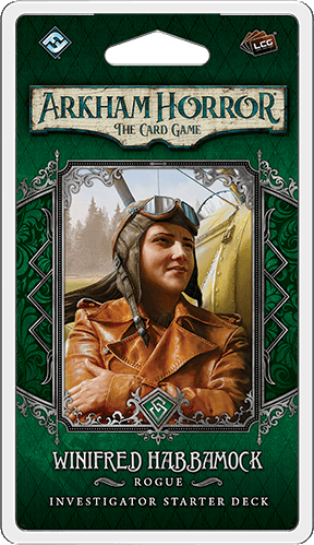 Arkham Horror: The Card Game -  Winifred Habbamock Investigator Pack