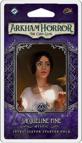 Arkham Horror: The Card Game -  Jacqueline Fine Investigator Pack