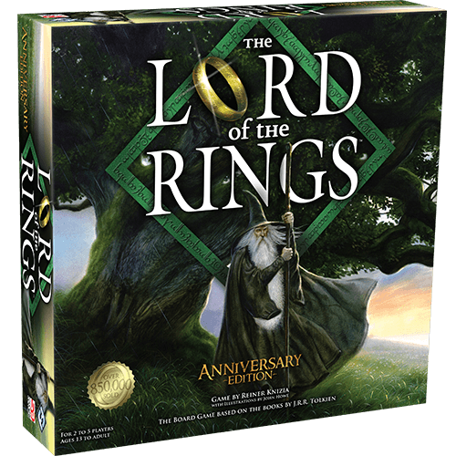 The Lord of The Rings The Board Game: Anniversary Edition