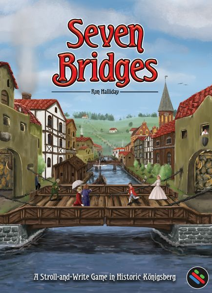 Seven Bridges - A Stroll & Write Board Game: Kickstarter Edition