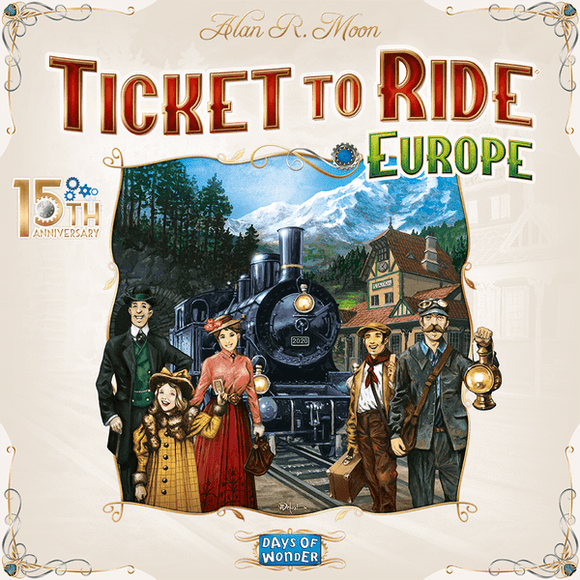Ticket to Ride: Europe - 15th Anniversary [Pre-Order]