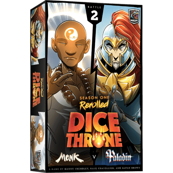 Dice Throne: Season One Rerolled - Monk v. Paladin