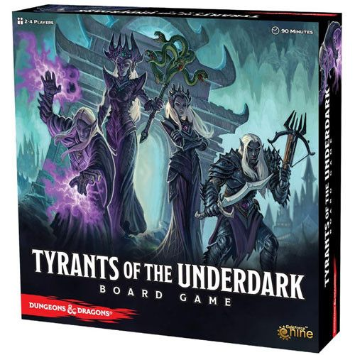 D&D Tyrants of the Underdark Board Game (Updated) [Pre-Order]