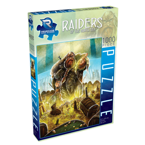 Puzzle: 1000 Renegade Games - Raiders of the North Sea