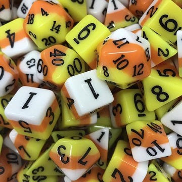 11 Die-Set: Ice Cream Dice Candy Corn