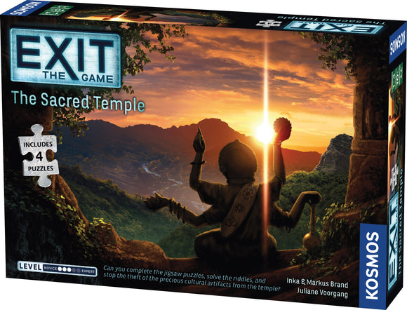 Exit: The Game + Puzzle - The Sacred Temple [Pre-Order]