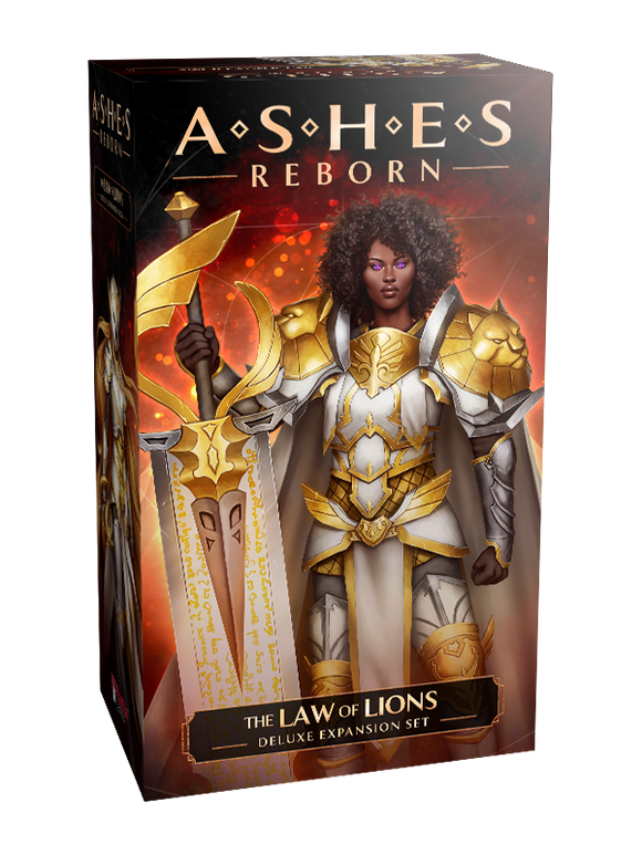 [Pre-Order] Ashes Reborn: The Laws of Lions - Deluxe Expansion