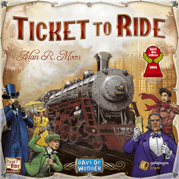 Ticket to Ride (Minor Damage)