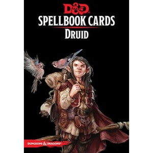 D&D Spellbook Cards Druid 2nd Edition