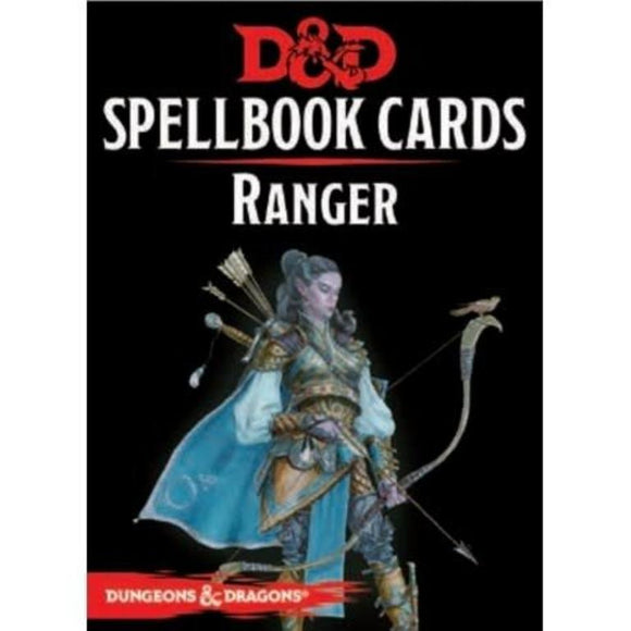 D&D Spellbook Cards Ranger 2nd Edition