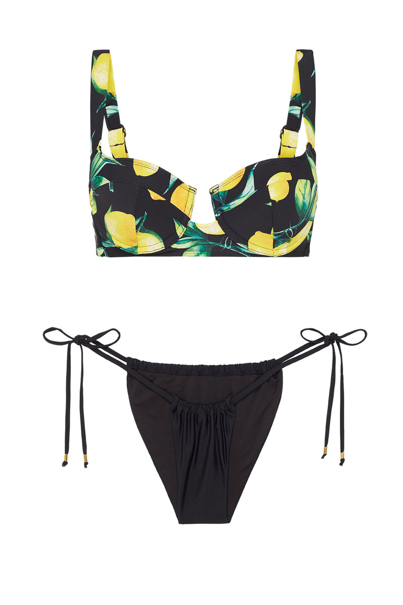 MESSINA SET – LIMONE & NOIR