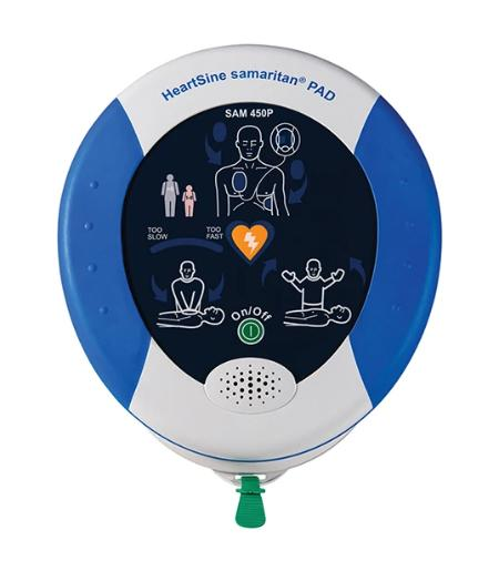 HeartSine SAM 450P with Integrated CPR Rate Advisor