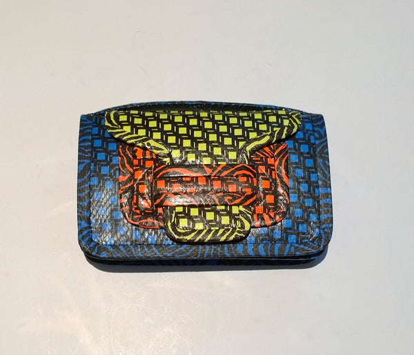 Pierre Hardy 61 Snakeskin Purse Crossbody Bag Clutch Discount Handbag
