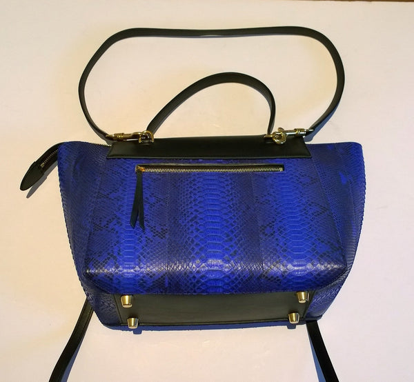 Celine Watersnake And Calfskin Mini Belt Bag Discount Handbag