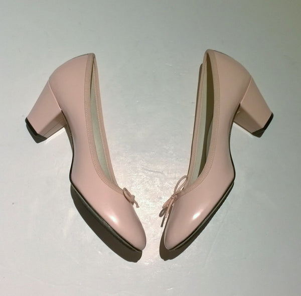Repetto Tutu Heels in Pink Rose Icone