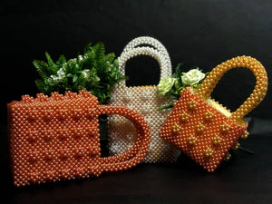 "Open image in slideshow, ""Yaa Bena"" Beaded Bag"