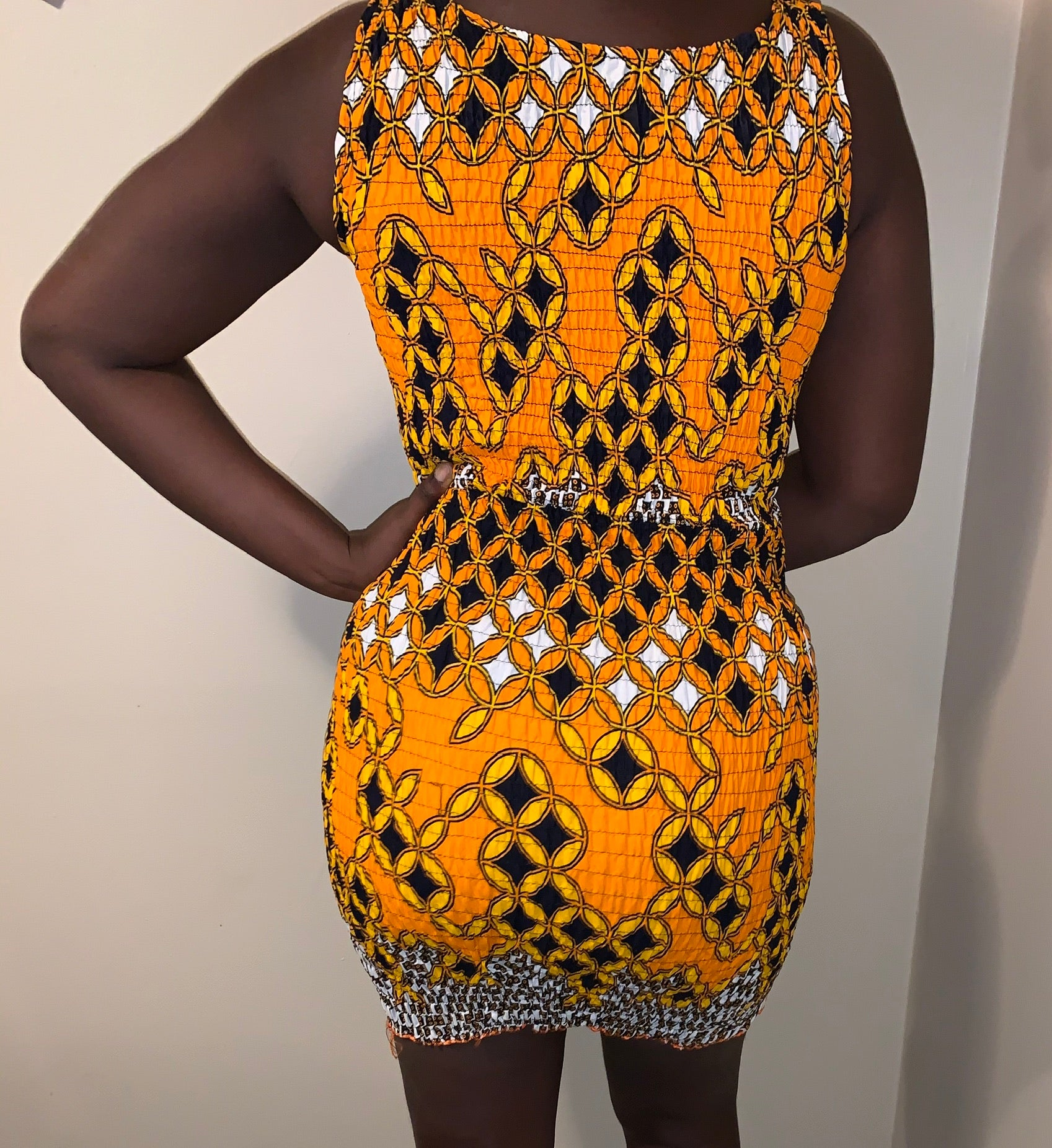 """Osoro"" Keyhole Dress"