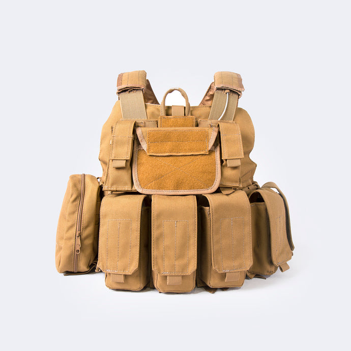 Tactical Coyote Molle with Cordura Fabric 2477-03