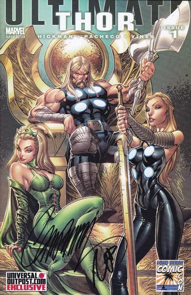 Ultimate Thor #1 UniversalOutpost.com Campbell Variant