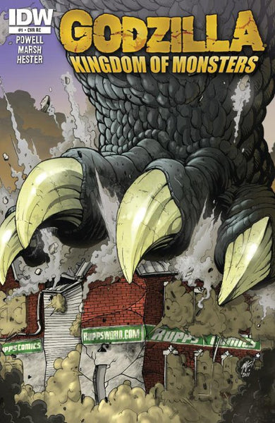 Godzilla Kingdom of Monsters #1 Rupp's Comics Exclusive