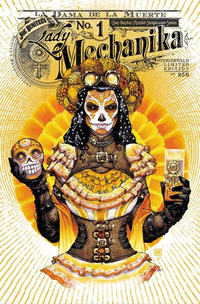 Lady Mechanika #1 La Dama da la Muerta Steigerwald Rupp's Comics Exclusive