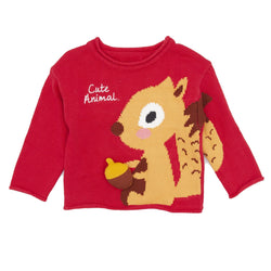 Animal Friend Sweater - Merry BooBoo
