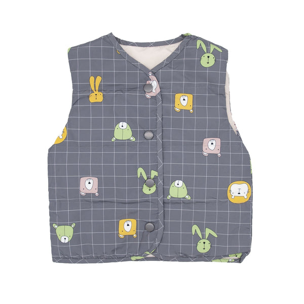 Animal Friends Shell Down Vest - Merry BooBoo