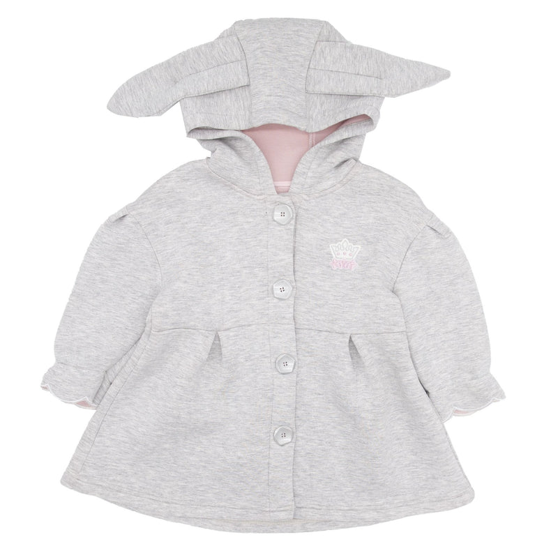 Bunny Ears Hooded Winter Jacket - Merry BooBoo