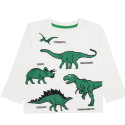 Dinosaurs Printed Long Sleeve T-Shirt - Merry BooBoo