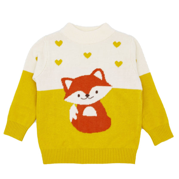 Fox Sweater - Merry BooBoo