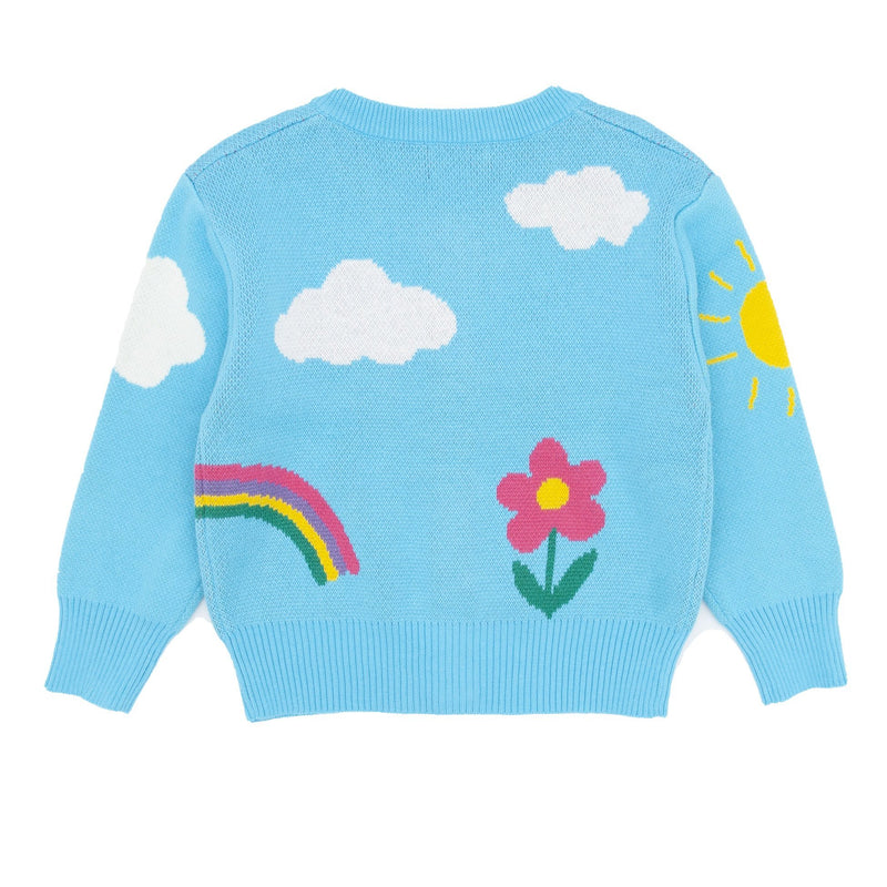 Garden Scene Sweater - Merry BooBoo