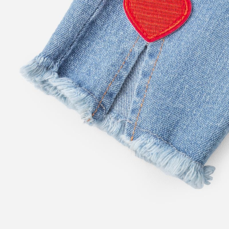 Heart Pattern Jean - Merry BooBoo
