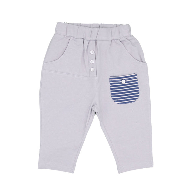 Patched Pocket Summer Pants - Merry BooBoo